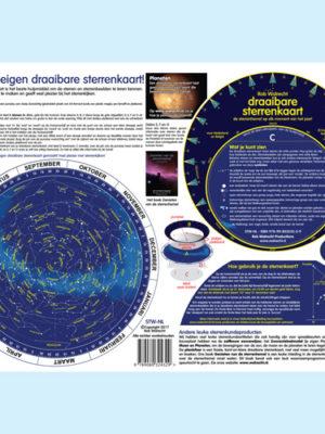 Zelfbouw draaibare sterrenkaart