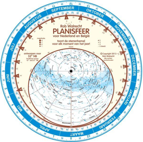 Planisfeer voor Waarnemers