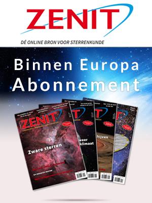 Zenit binnen Europa