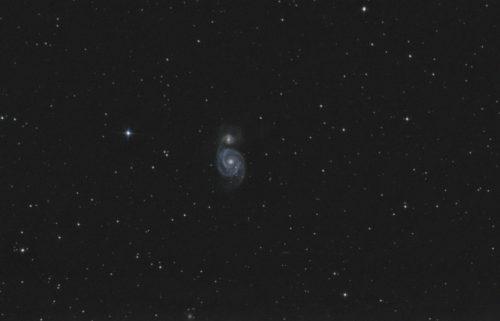 M51 Cosmische Draaikolk