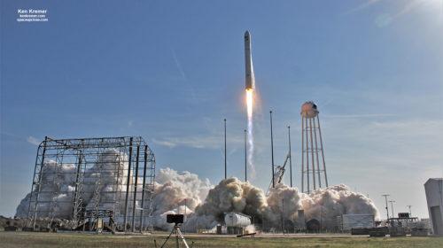 Antares Cygnus lancering