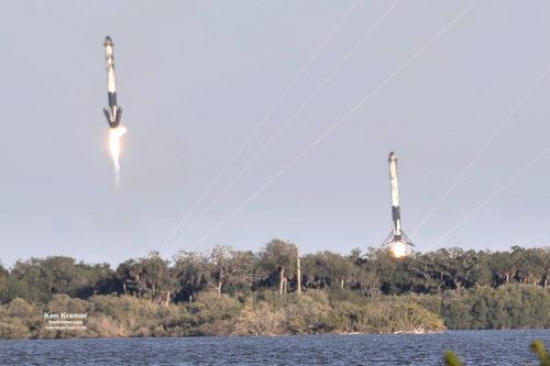 Falcon Heavy 12 april 2019