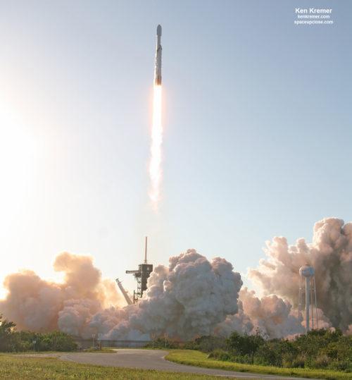 Falcon Heavy lancering2