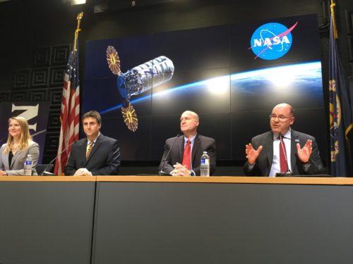 persconferentie NASA
