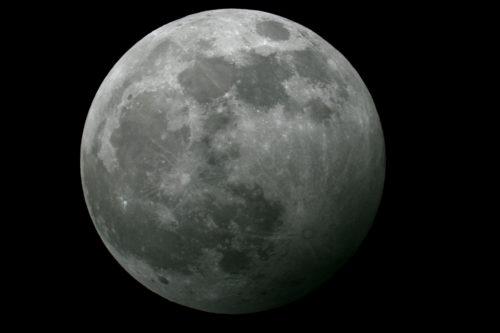 Maansverduistering 10 januari 2020 Capelle aan de IJssel