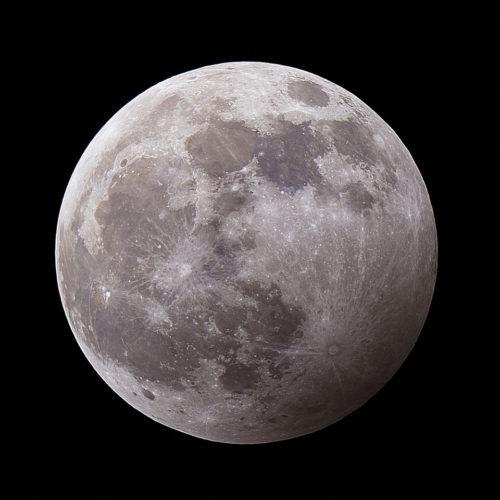 Maansverduistering bijschaduw  10 januari 2020