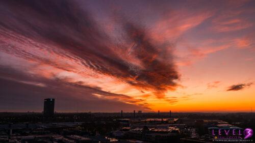 Zonsondergang Utrecht
