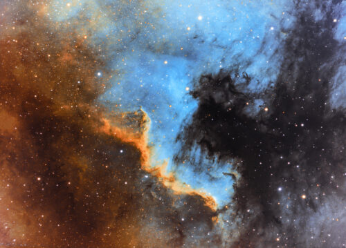 Noord Amerika Nevel (NGC 7000