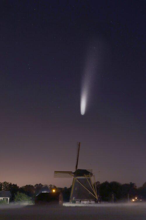 NEOWISE Westbroekse Molen