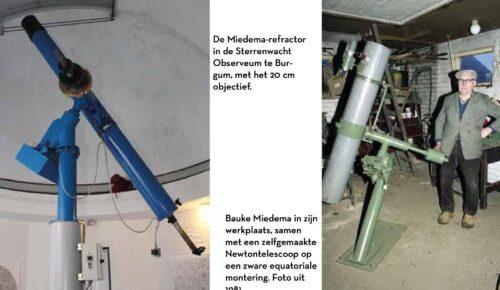 Bauke Tsjibbeles Miedema: boer - amateurastronoom - instrumentenmaker