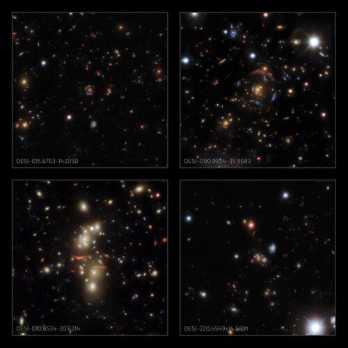 Ruim 1200 nieuwe zwaartekrachtlenzen ontdekt