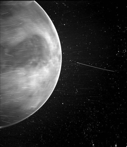 Parker Solar Probe maakte bijzondere foto Venus