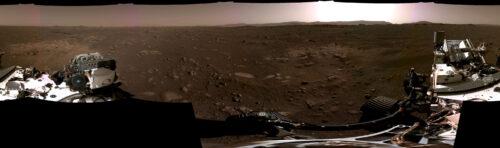 landing van Perseverance op Mars