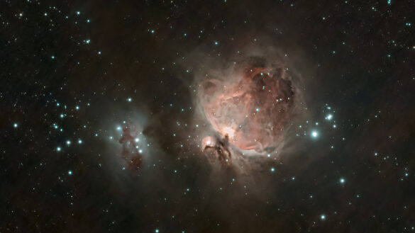 Orionnevel Photo Credit: Michael Grondijs -  Instagram: astrophoto.mike