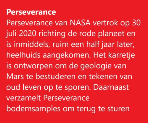Perseverance note