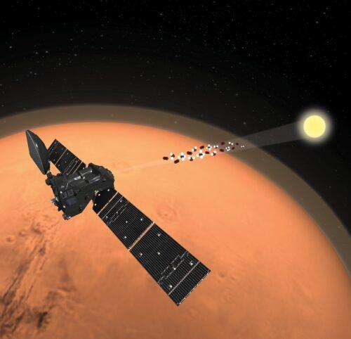 Methaanraadsel op Mars